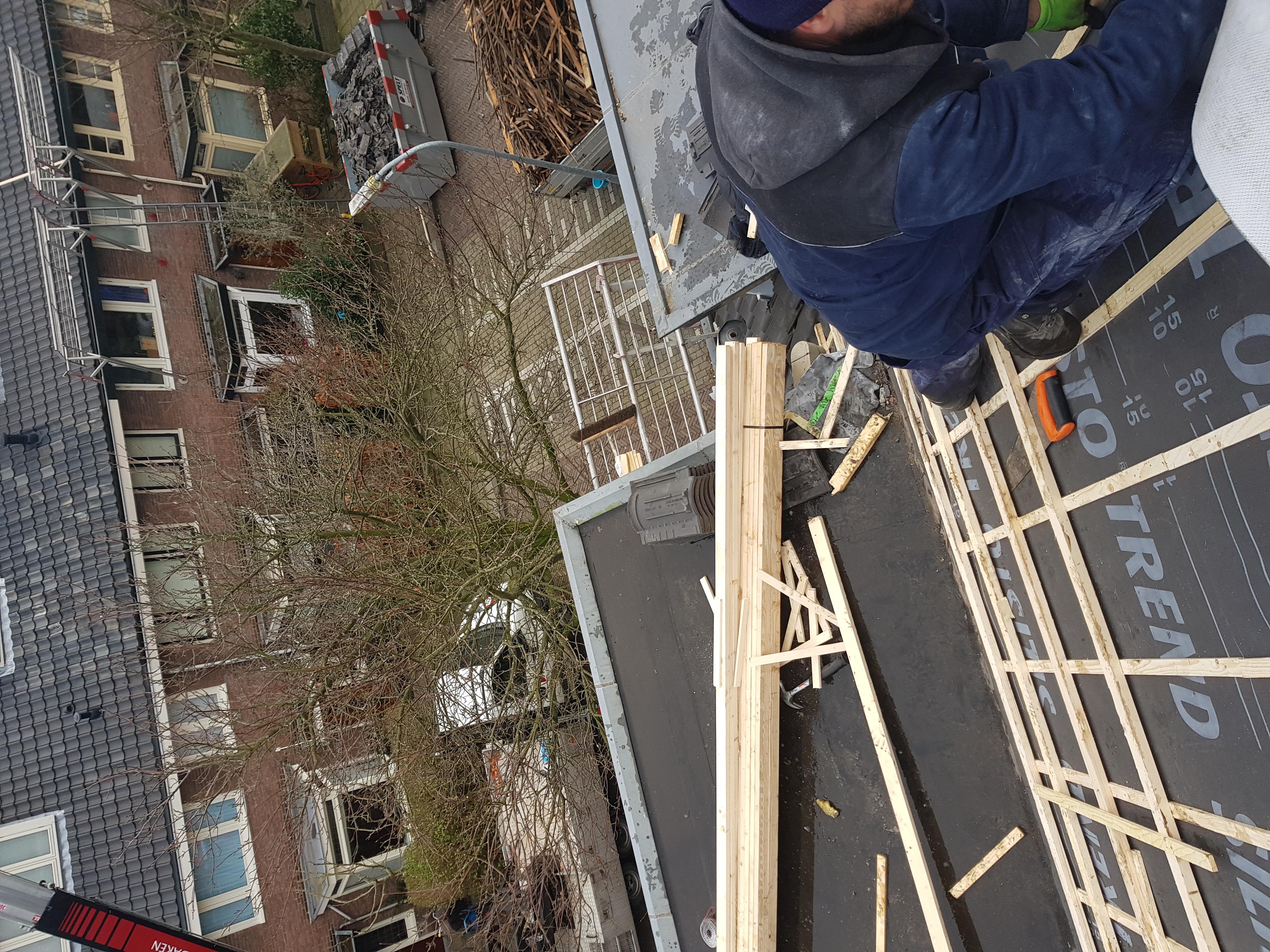Dakrenovatie Haarlem PDK Kootstertille