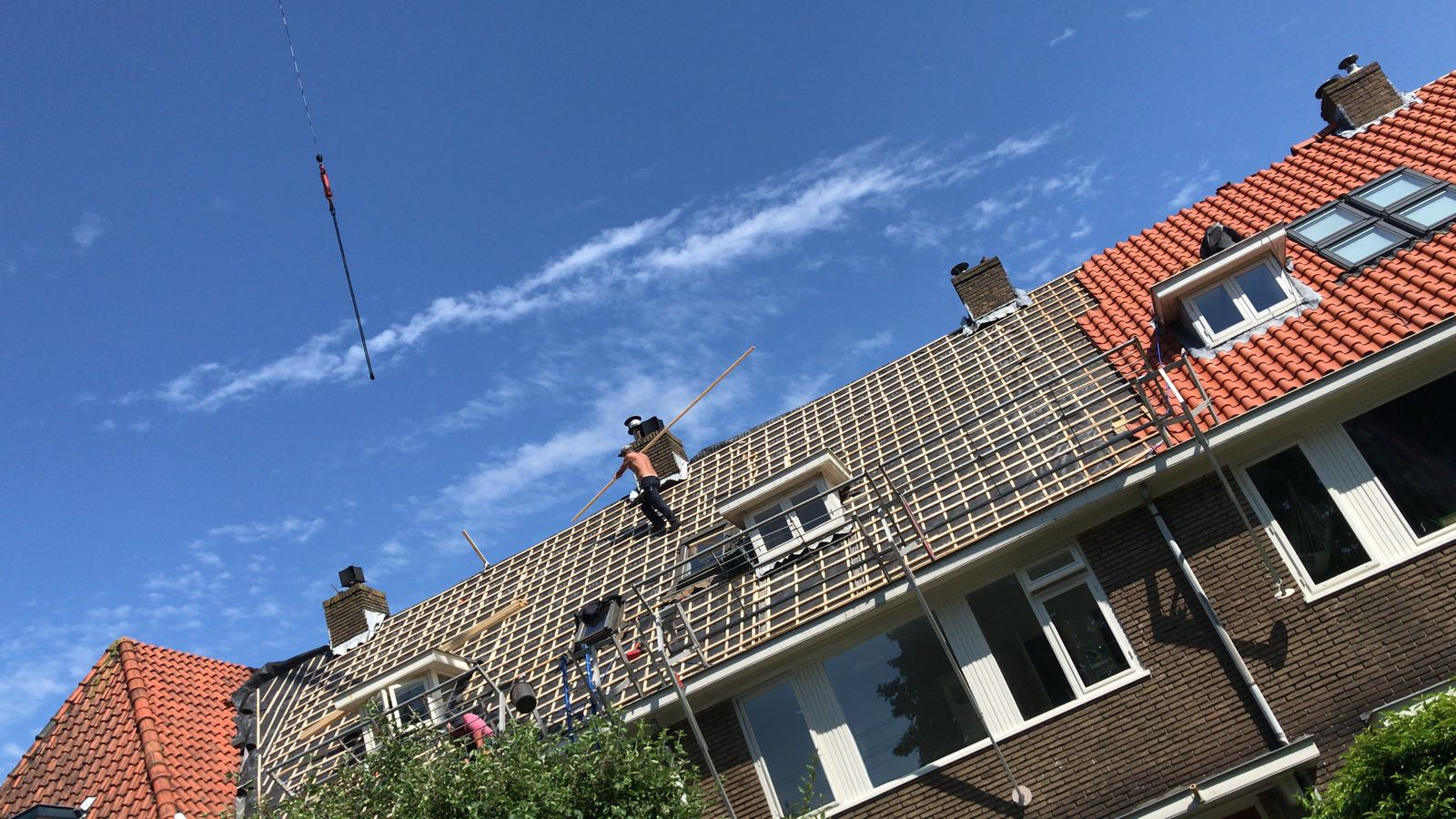 Dakrenovatie Heemstede PDK Kootstertille